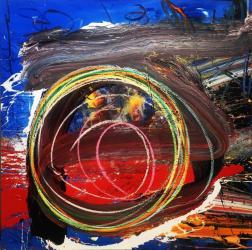 Kodjovi Olympio: Untitled Blue