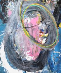 Kodjovi Olympio: Untitled Pink