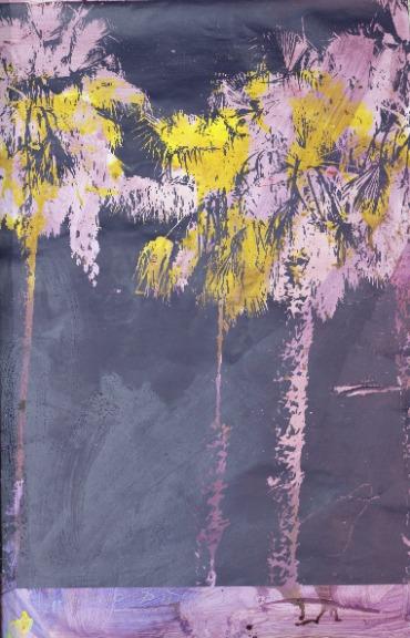 Marco Pittori: Purple and Yellow Palms