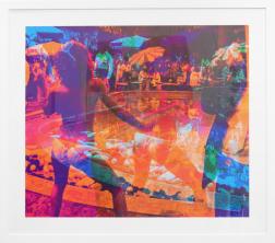 Marco Pittori: Orange Blue Pool