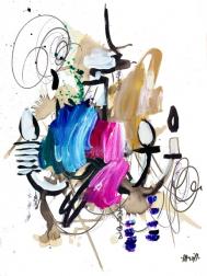 Ash Almonte: Jewel Tone Chandelier