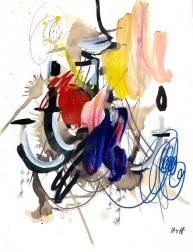 Ash Almonte: Primary Color Chandelier
