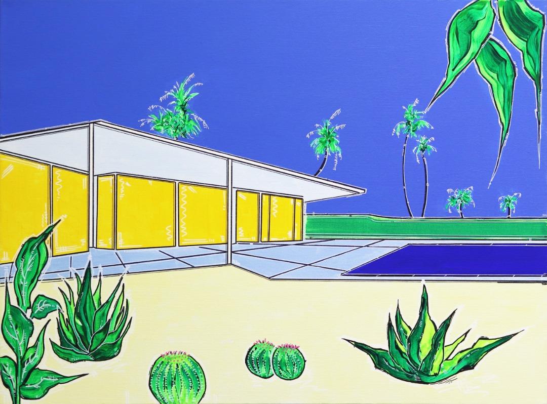 Jonjo Elliott: Six Palms