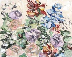 Sally West: Flower Study 1 (16.5.17)