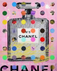 Nelson de la Nuez: Chanel #5 Pink with Grey Bottle (118/125)