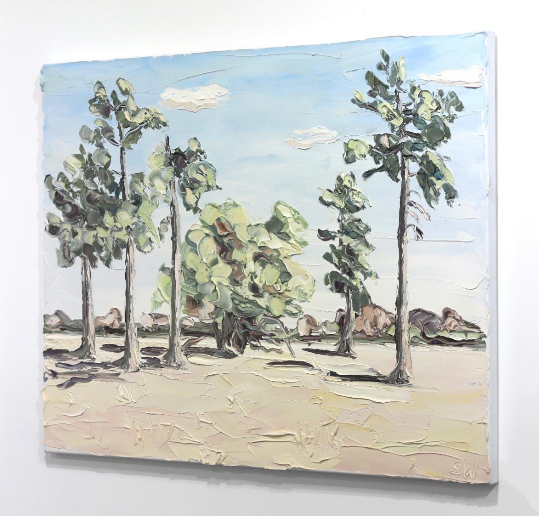 Sally West: Hilders (15.4.17) - Plein Air