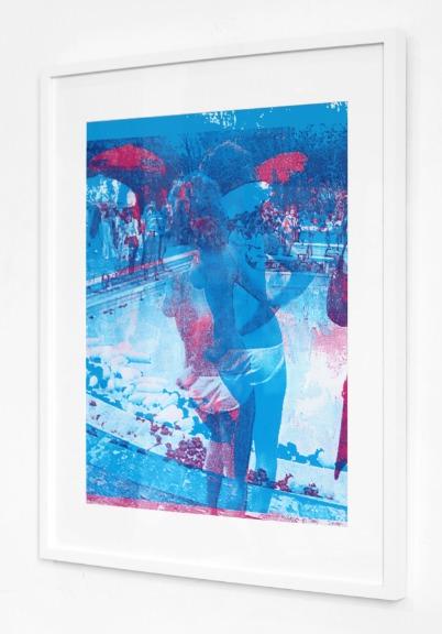 Marco Pittori: Blue Swimming Pool