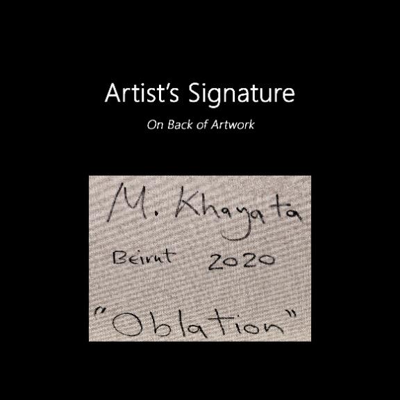 Mohamad Khayata: Oblation
